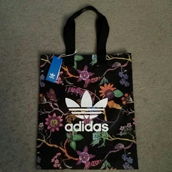 a99baae817aa Adidas Poisonous Garden Reversible Shopper Bag